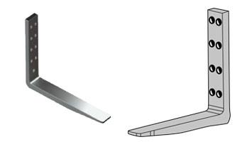 Produzione Forche Imbullonate per carrelli elevatori